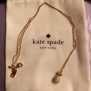 NWOT Kate Spade Pineapple Necklace